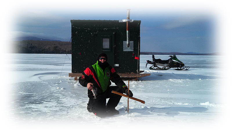 Maine winter vacations come and enjoy winter in maine for Ice fishing maine